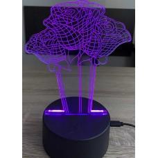 3D stolní lampa DD-012