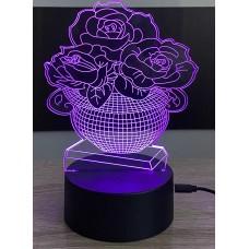 3D stolní lampa DD-026