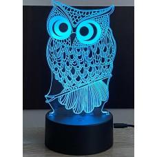 3D stolní lampa DD-062