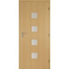 Interiérové dveře Masonite - Quadra 90L/197 JAVOR CPL skladem