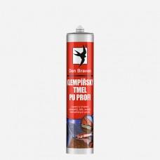 Klempířský tmel PU PROFI, kartuše 300 ml, šedý