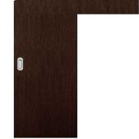 Posuvné dveře na stěnu skladem Plné hladké Wenge 80/197